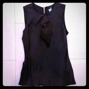 Black Kenneth Cole Silk blouse